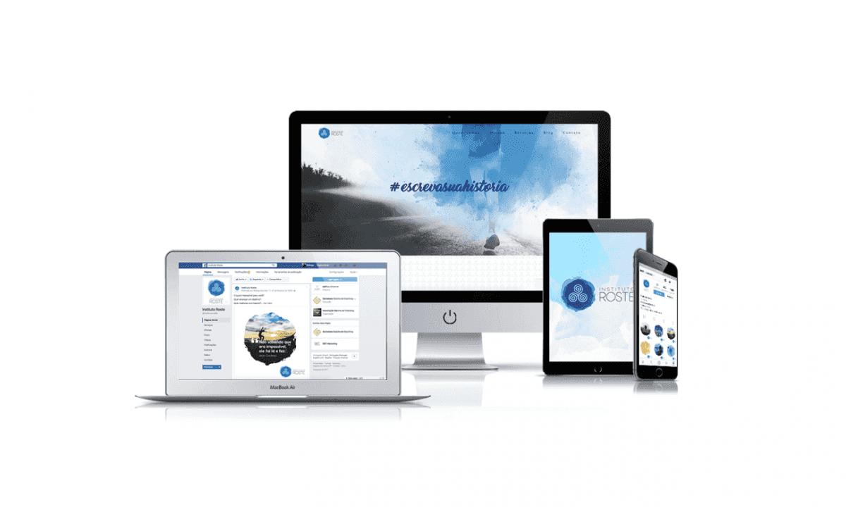 Instituto Roste - Coach, Treinamentos, Workshops e PNL - desenvolvimento de branding, criação de site, gestão de redes sociais