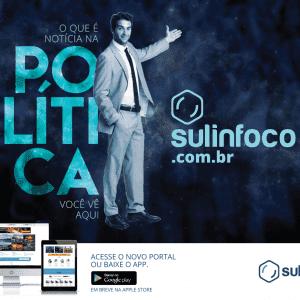 Sulinfoco - portal de notícias - desenvolvimento do branding, criação do site e portal de notícias e campanha de lançamento