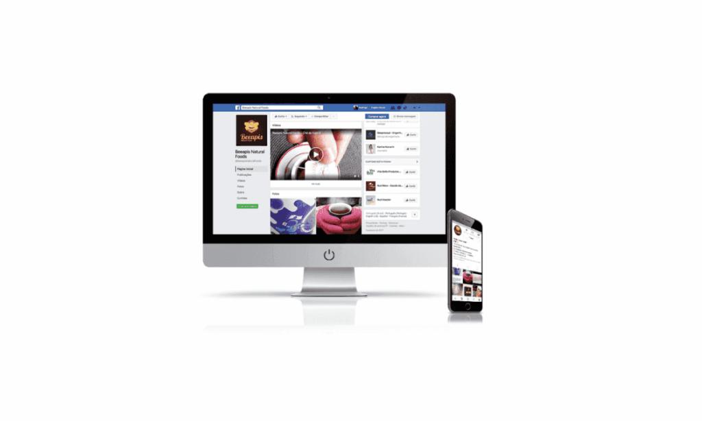 redes sociais para beapis