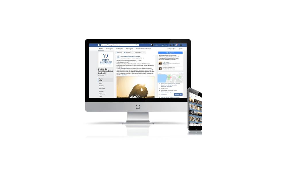 gestão de marketing digital para centro de psicologia érica andrade