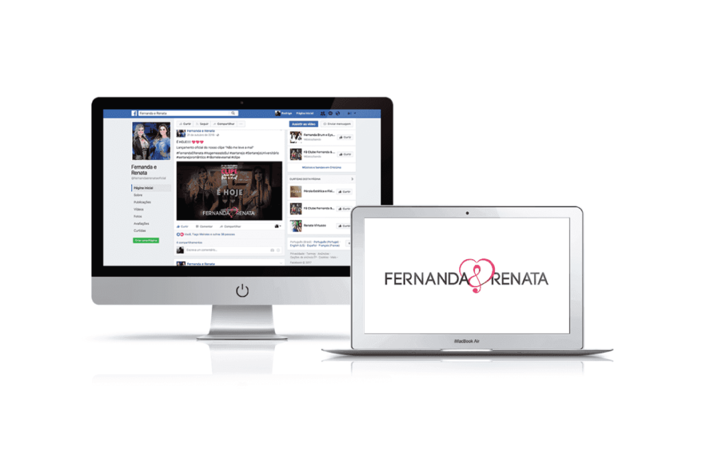 consultoria em marketing para fernanda e renata sertanejo