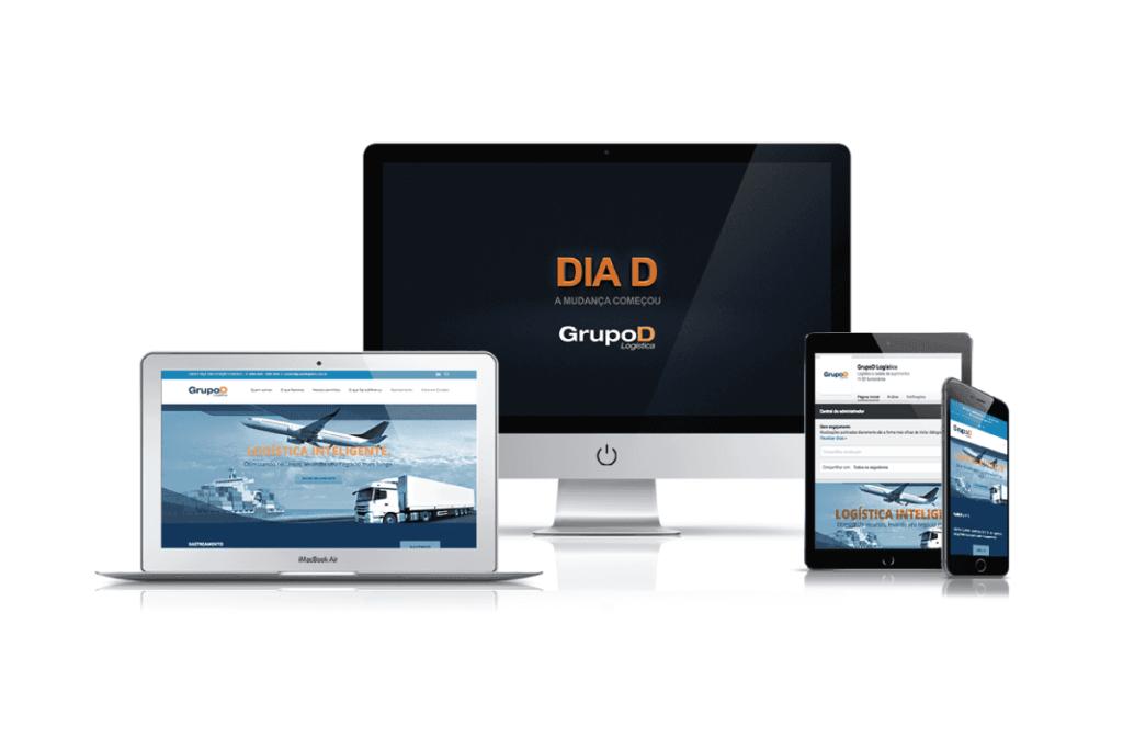 consultoria em marketing para grupo d logística