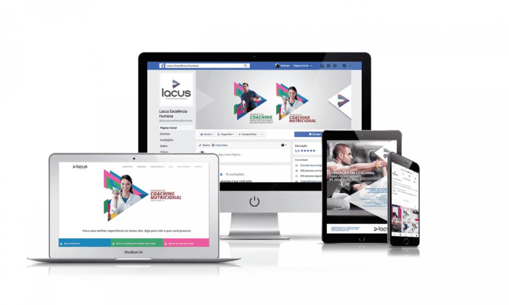 marketing digital desenvolvido para a lacus
