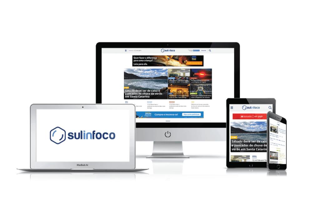 desenvolvimento de site para sulinfoco